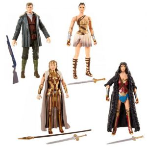 DC Multiverse Wonder Woman Movie 6-Inch Action Figure Case