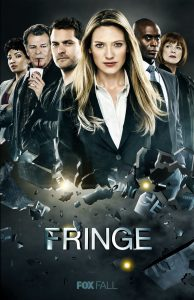 "Fringe TV Fabric poster 36"" x 24"" Decor 02"