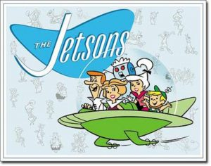 Looking at The Jetsons poster