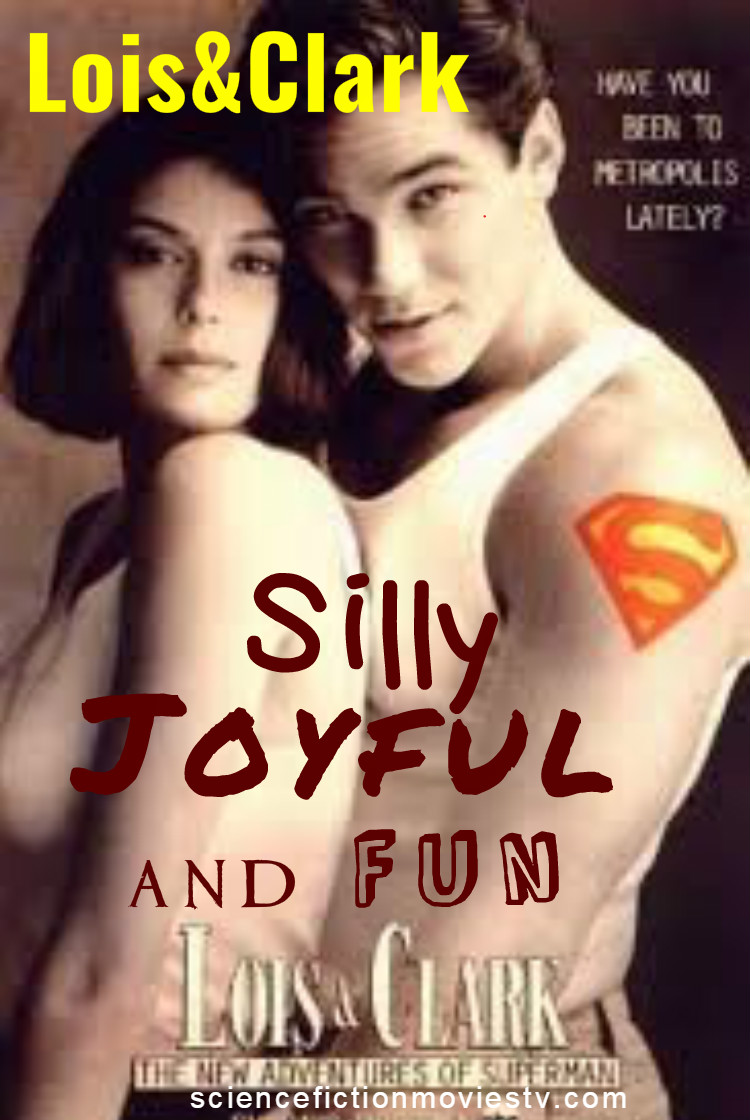 Lois and Clark: silly, joyful and fun