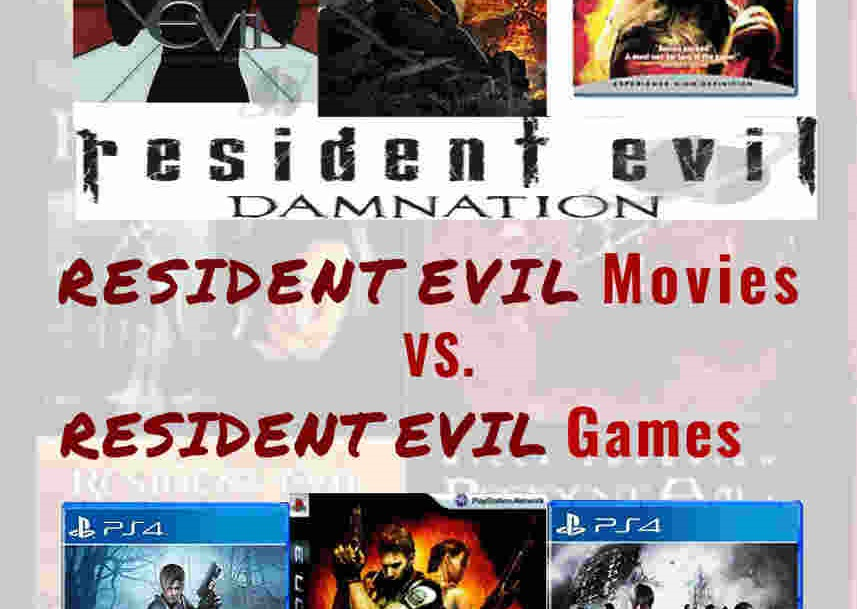 Resident Evil Movies vs. Resident Evil Games