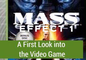 First look at Mass Effect 1