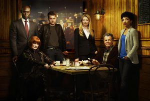 "Fringe TV Show Fabric poster 36"" x 24"" Decor 07"