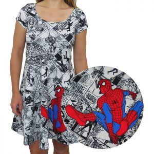 Spider-Man Comic Pop Sublimated Women's Dress