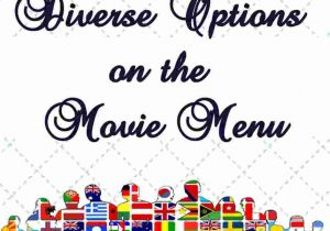 Diverse Options on the Movie Menu