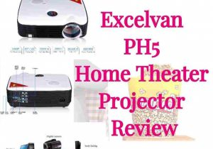 Excelvan PH5 Home Theater Projector Review