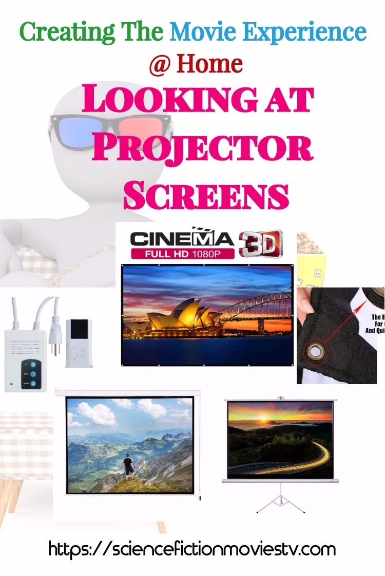 Looking at Projector Screens
