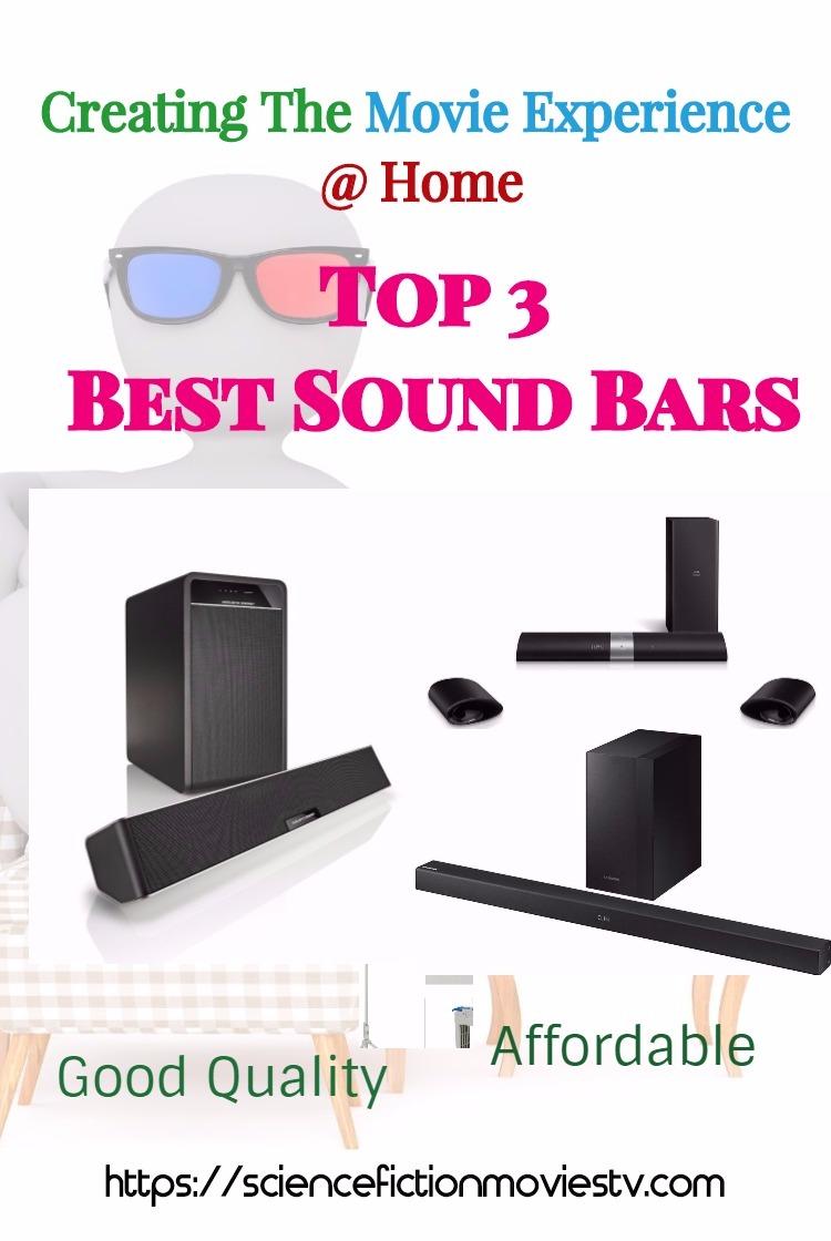 Top 3 Best Sound Bars