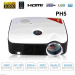 Excelvan PH5 2500 Lumens Multimedia 1080P LED Projector