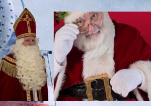 Santa Claus and Sinterklaas
