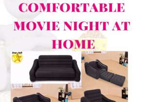 Have a Comfortable Movie Night at Home