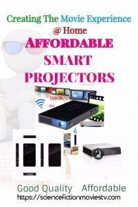 Top 3 Affordable Smart Projectors